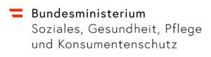 Logo des Sozialministeriums